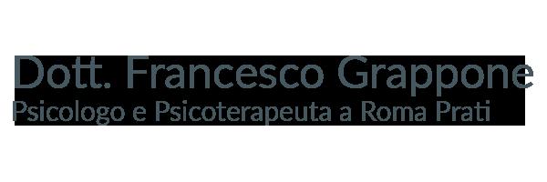 Francesco Grappone, psicologo e psicoterapeuta a Roma Prati
